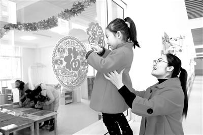 让城郊娃娃在家门口就可以轻松享受优质教育