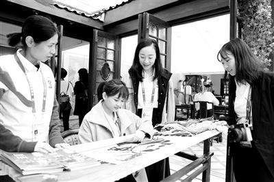 中华文化面向世界大放异彩