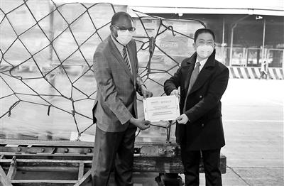 由联合国儿童基金会捐赠的物资将在近期陆续运抵中国